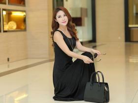 韩版时尚修身短袖连衣裙,彰显时尚风范