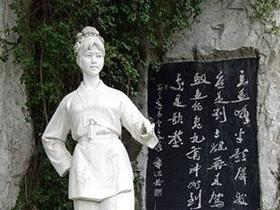刘三姐的故事——对歌的石像遗迹至今仍在