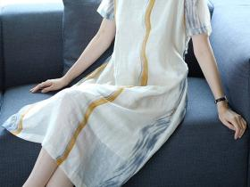 飘逸灵动雪纺连衣裙,永远穿不腻的百搭单品