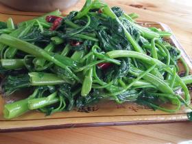 刘连康:空心菜怎么炒才不会氧化变黑